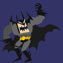 angry batman by AlmightyHans