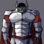 Demonic knight thing