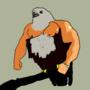 Buff eagle