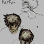 Homestuck: Karkat expressions by VoicedPAINKILLER