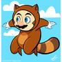 Tanooki Suit Super Mario by Torogoz