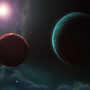Planets in Andromeda by Sonixtar