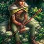 Masen, Half-Elf Wizard by AlvinHew
