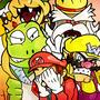 Poor Mario by Psyguy