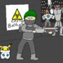 Biohazard Menace by rabbitgentleman