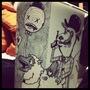 Trash Can Drawing by jerryspaghetti