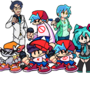 The hatsune family