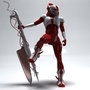 demon soldier_bold watch pose