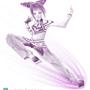 Juri Han: Purple Beauty by JewelMaiden