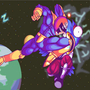 Captain Falcon Knee of Destiny by Pwanzo
