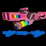Double Rainbow Thrower by Flamingo1986
