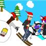 Lewtendo Ski Trip by DeftWise-Zero