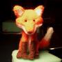 Needle Felt Fox by MoriChax