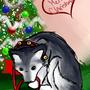 Husky Husky Puppy by Kashi