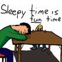Sleepy Fun Time by hoyohoyo9