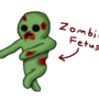 zombie fetus by MadVTaco