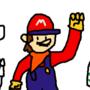 Mario Redesign Doodle Page