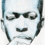Coltrane blue sketch by XSP