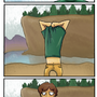 Swimming Comic