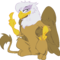 gilda flipping the bird