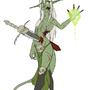 Plague demon by Cenaf