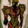 zombie Samus by dommi-fresh