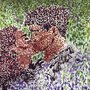 Romance in Pointilism by JLuPerra