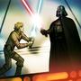 Luke and Vader by NickV1995