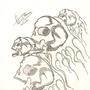 fired up skulls by rey619lh