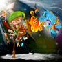 Link vs. Ganon by fightstacy