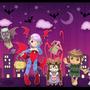 Darkstalkers Tribute Entry by Torogoz