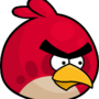 Red Angry Bird by LAVAGASM