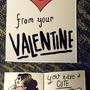 My Valentine. by bangsongirls