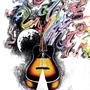 Pink Floyd Guitar Tattoo