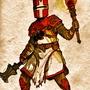 THE Orange Knight by dommi-fresh