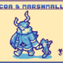 Cocoa & Marshmallow - pixel dailies 06/22