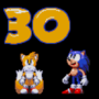 Rushed Sonic 30th Anniversary Fanart