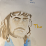 Watercolor Portrait of (NG)Thor