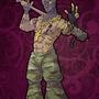 Fetish warrior by Cenaf