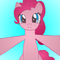 Pinkie Pie is about to hug you