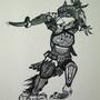 Bird Warrior by FudgeMellow