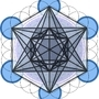 Metatron's Cube Upright by smirkstudios