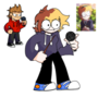 Lotte and Tord In my Art Style/ Eddsworld Style