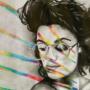 Sketchbook 25: Rainbow Portrait
