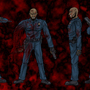 Zombie Panic concept alive cop by SickDeathFiend