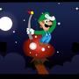 Night in the Mushroom Kingdom by MertCoskun