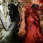 Ivil and Natas by DarkVisionComics
