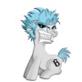 art request: pony grimmjow by marcpanda