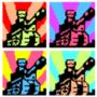 Pop Art of Newgrounds Logo.