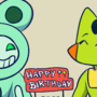 Birthday Drawing for Pam and Sachiko :D